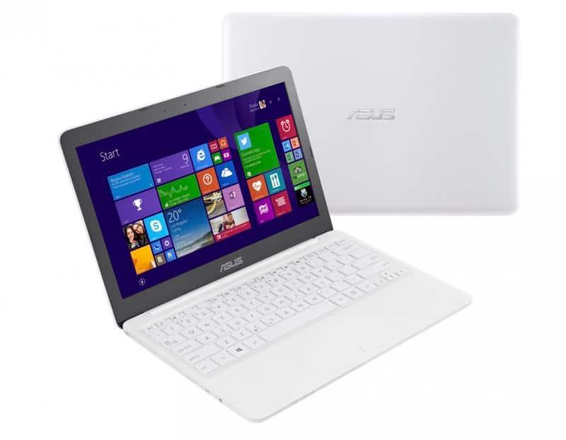 Asus X205TA BING-FD005B, ultraportable 11 pouces blanc et fanless à 209€ avec SSD 32 Go et 9h autonomie