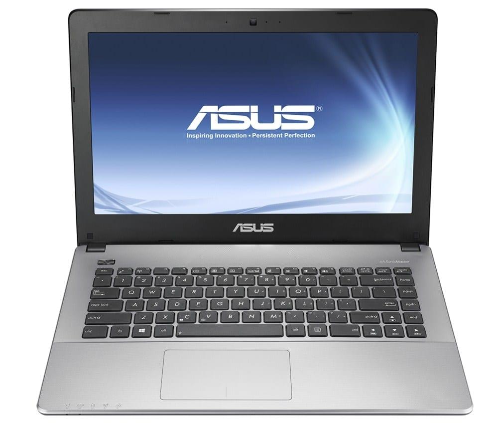 Asus X455LA-WX470T vente flash 429€, PC portable 14 pouces argent Core i3