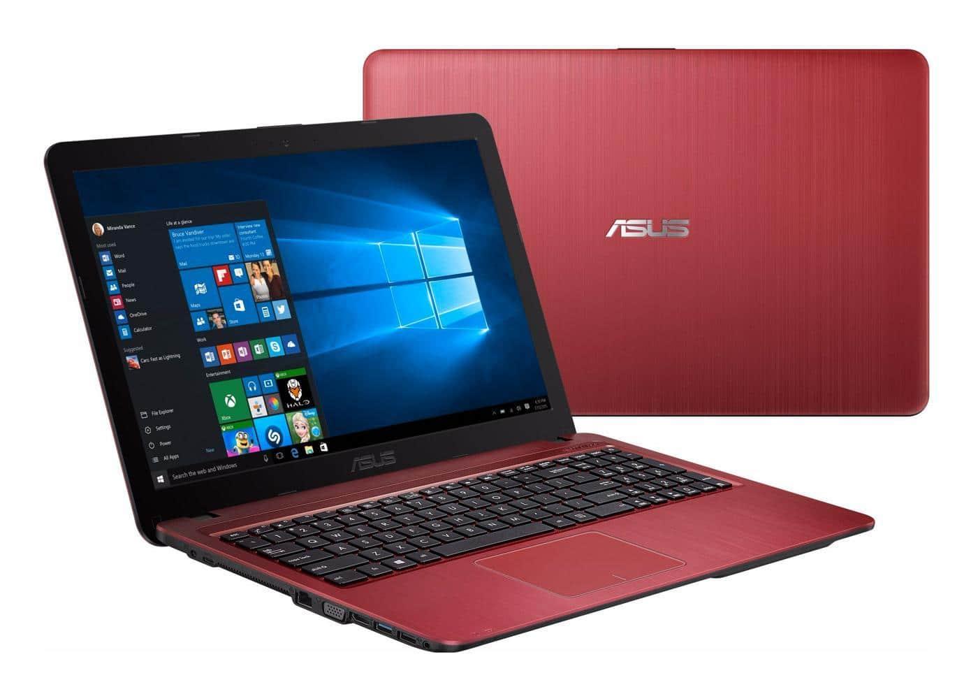 Asus X541UJ-GO229T, PC portable 15 pouces Rouge 8 Go i3 920M promo 479€