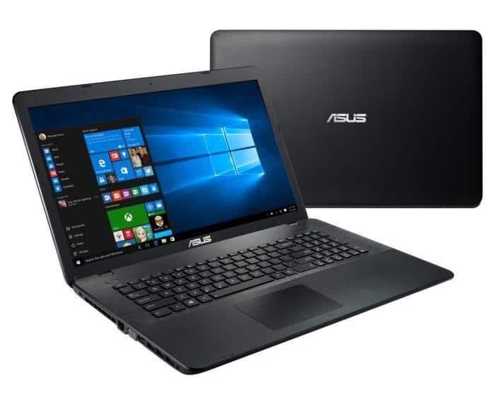 Asus X751LJ-TY444T,  PC portable 17 pouces bureautique Core i3 920M à 499€