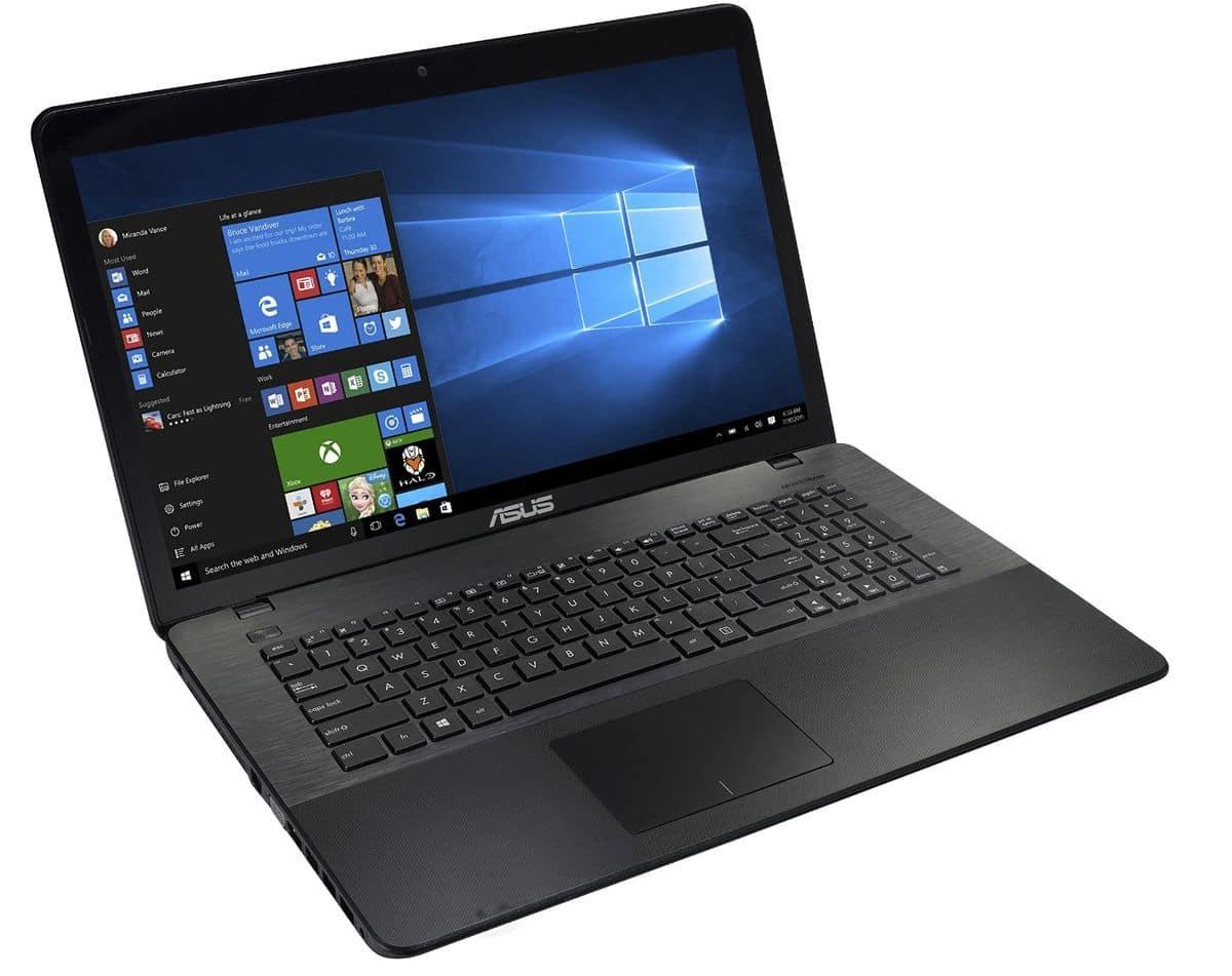 Asus X751MJ-TY012T à 553€, PC portable grand format
