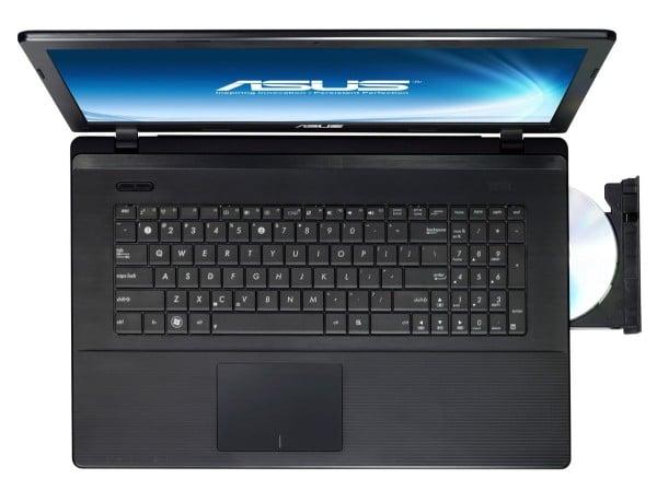 """Asus X75A-TY233H, 17.3"""" avec Core i3-3110M Ivy Bridge et disque dur de 500 Go à 429€"""