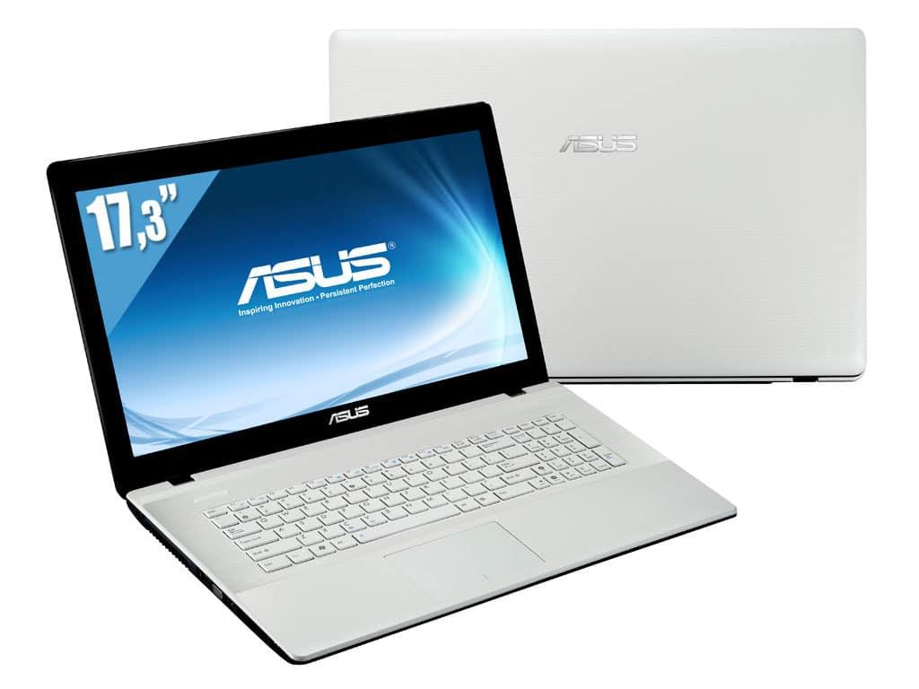 """Asus X75VC-TY189H, 17.3"""" à 529€ avec Pentium Dual Core Ivy Bridge, GT 720M, 8 Go, 1000 Go"""