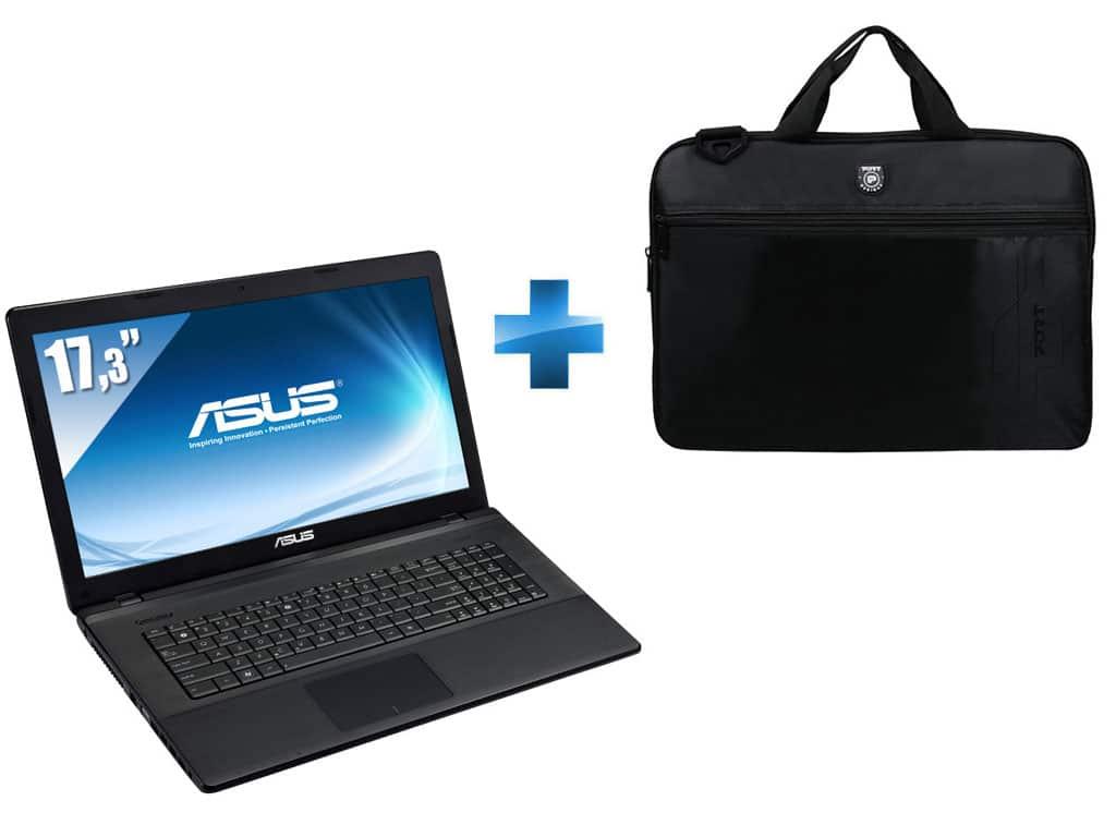 """<span class=""""tagtitre""""><del datetime=""""2013-06-27T06:29:53+00:00"""">Promo 499€ - </span>Asus X75VD-TY254H, 17.3"""" : Pentium Dual Core Ivy Bridge, 8 Go, 1000 Go, Geforce 610M</del>"""