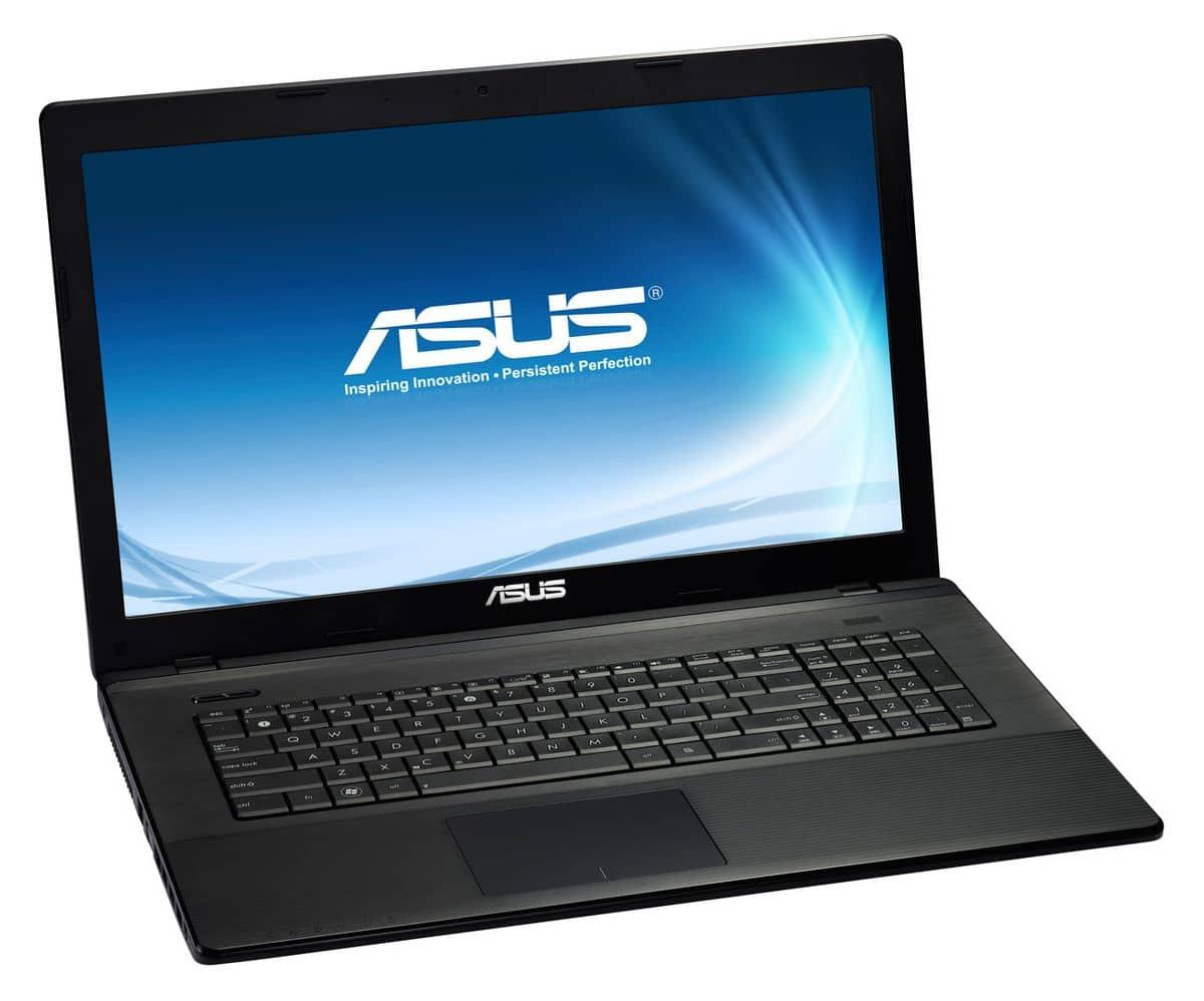 """<span class=""""tagtitre"""">Soldes 499€ - </span>Asus X75VD-TY256H, 17.3"""" : Pentium Dual Core Ivy Bridge, 8 Go, 750 Go, Geforce 610M"""