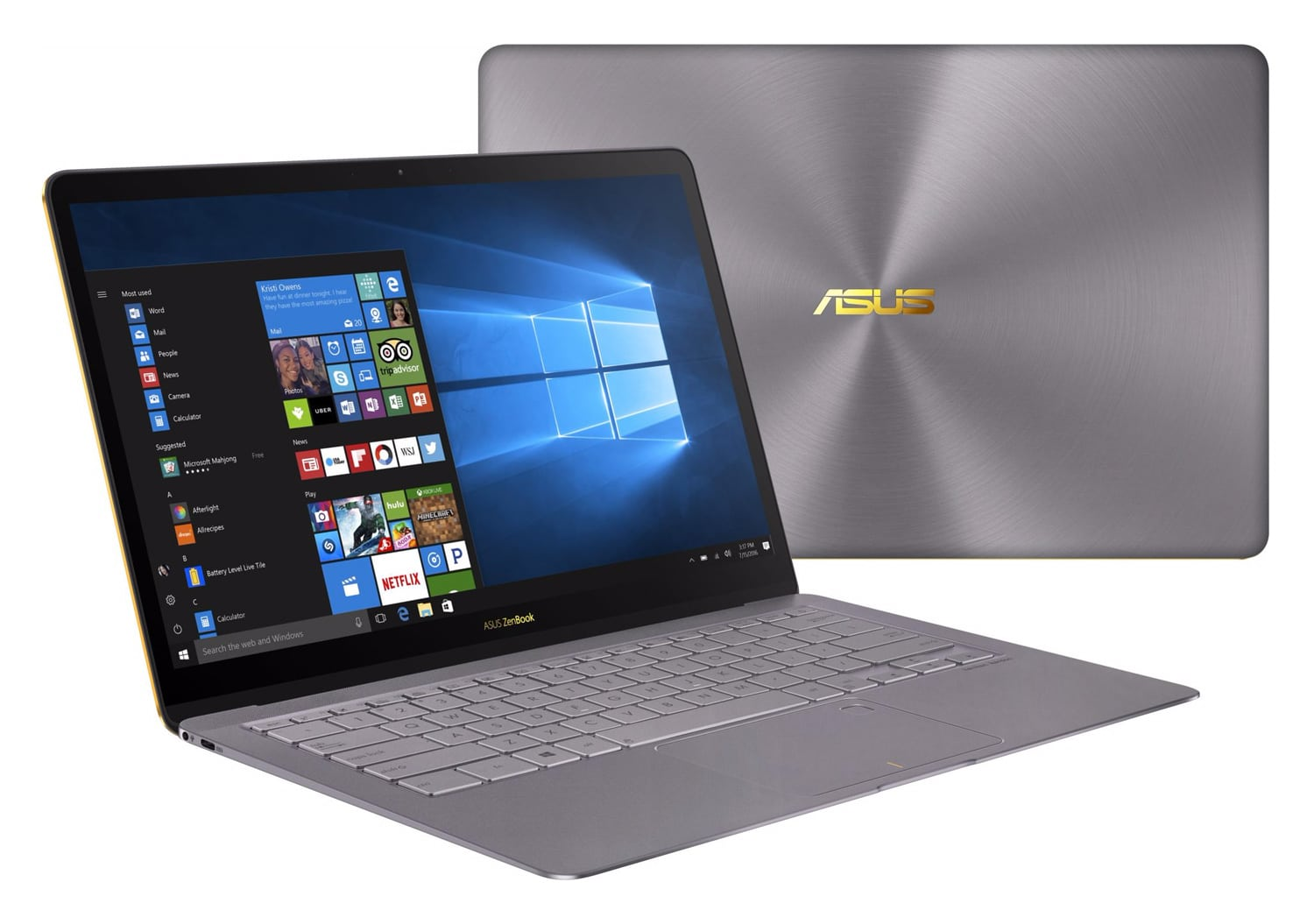 Asus ZenBook 3 Deluxe-7161-G, Ultrabook 14 pouces 1Kg SSD 1 To Kaby 2185€