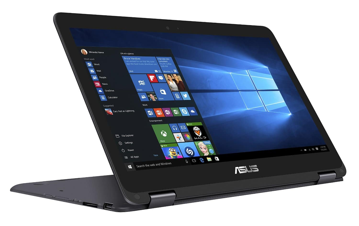 """Asus UX360CA-C4201T, ultrabook 13"""" convertible Full IPS SSD Kaby Lake-Y à 799€"""
