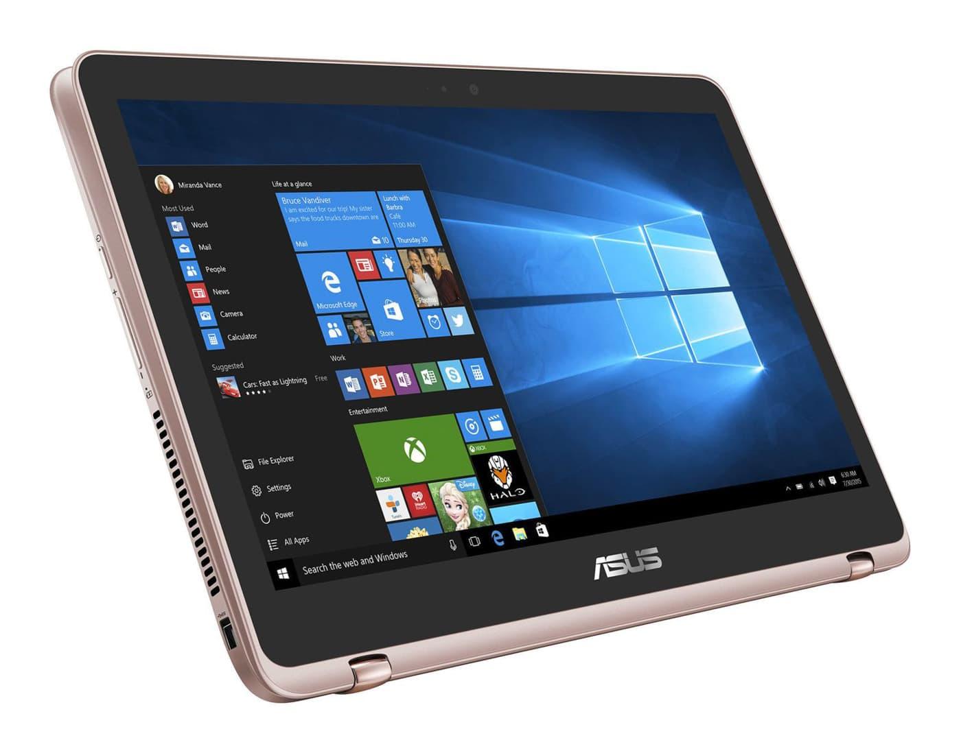 "Asus ZenBook Flip UX360UA-DQ019T, ultrabook 13"" convertible rose 4K promo 1169€"
