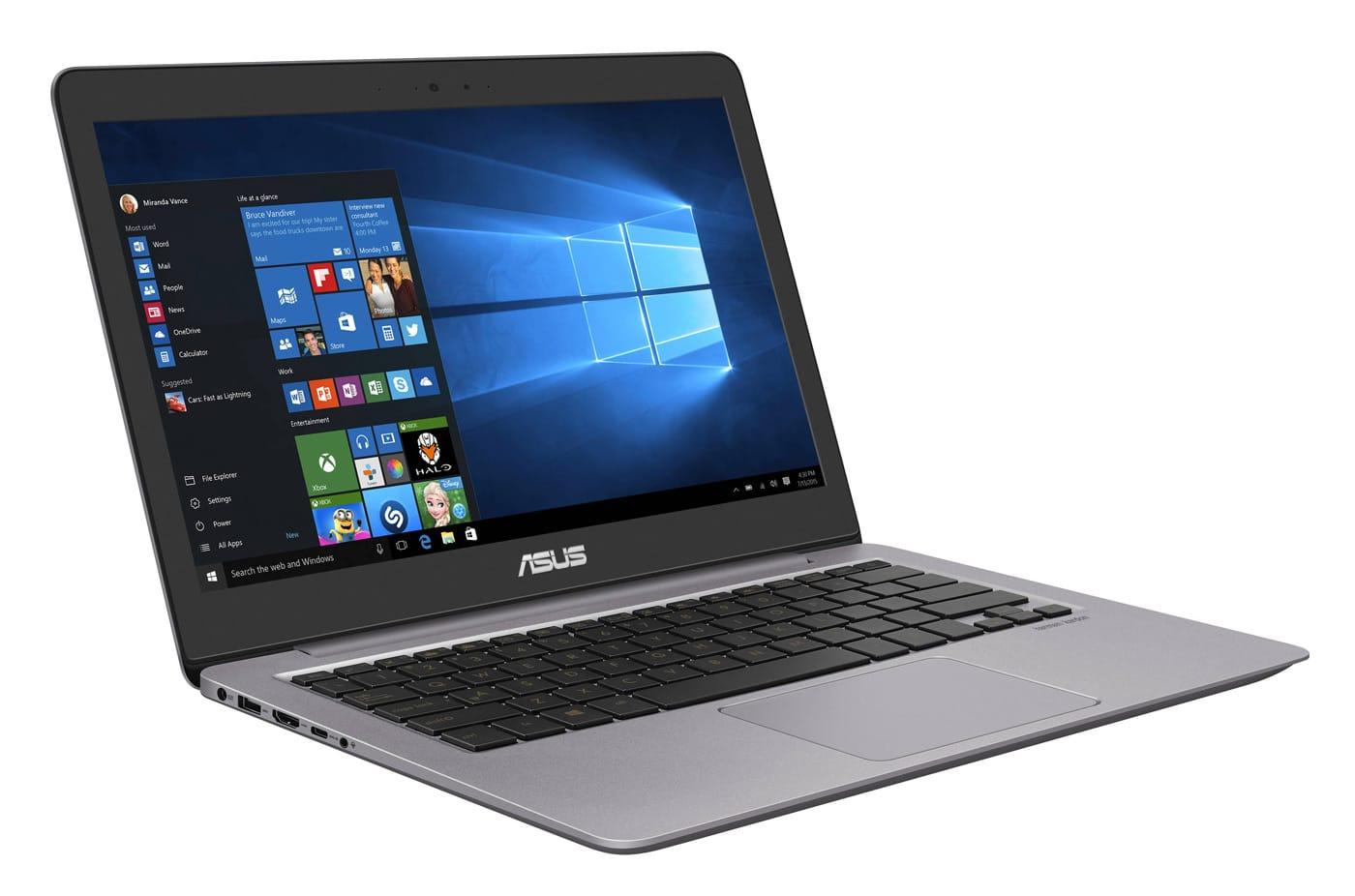 Asus ZenBook UX310UA-FC712T, Ultrabook 13 pouces IPS i5 Kaby (599€)