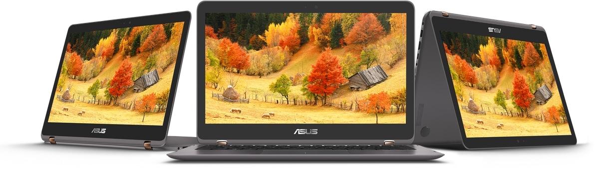 Asus Zenbook Flip UX360, Ultrabook tactile/Tablette en octobre sous Kaby Lake