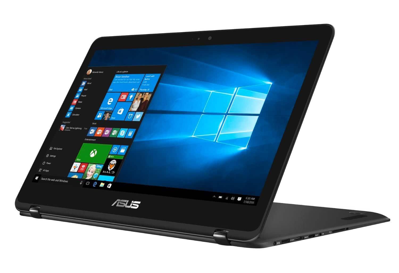 Asus Zenbook Flip UX360UAK-BB377T, Ultrabook 13 pouces IPS Kaby SSD 949€