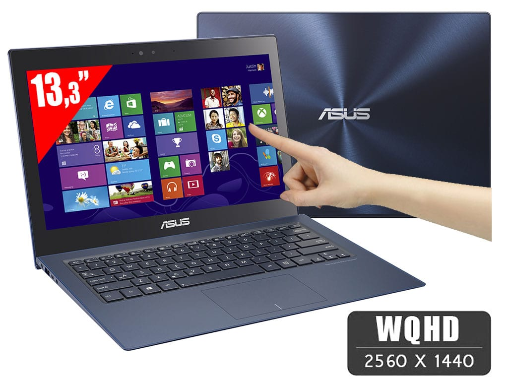 "<span class=""tagtitre"">Promo 1749€ - </span>Asus Zenbook Infinity UX301LA-DE002H, 13"" WQHD tactile 1804€: i7 Haswell, SSD 512 Go, 8 Go, 8h"