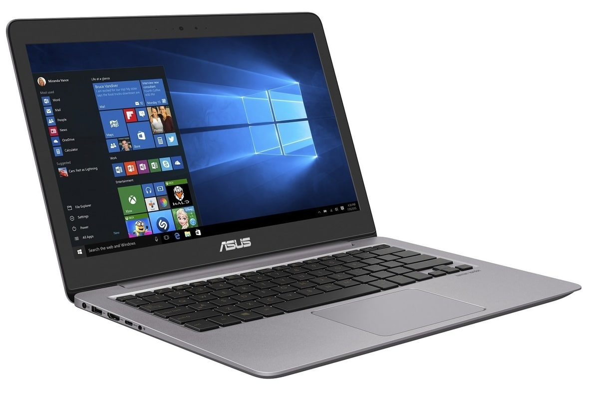 Asus Zenbook UX310UQ-GL015T à 999€, Ultrabook SSD128+1To i7 940MX 8 Go