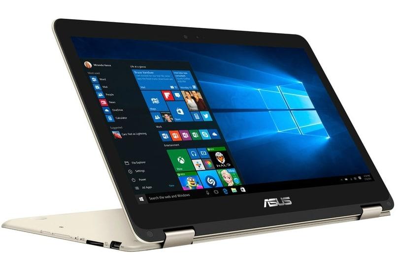 Asus Zenbook Flip UX360CA-C4060T à 699€, 13pouces Full HD tactile/Tablette SSD