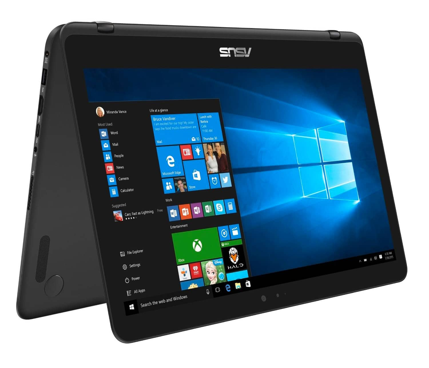 "Asus Zenbook UX360UAK-DQ429T, ultrabook 13"" tab QHD i7 Kaby SSD promo 1170€"