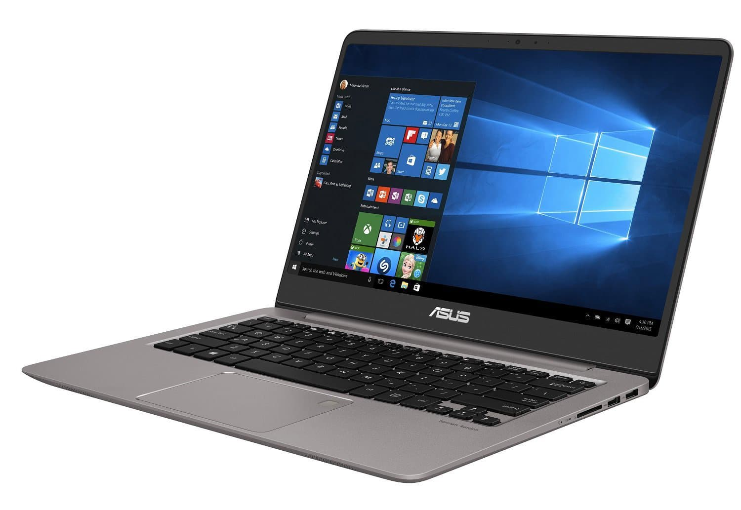 Asus Zenbook UX410UA-GV099T, Ultrabook 14 pouces Full IPS SSD i5 Kaby 799€