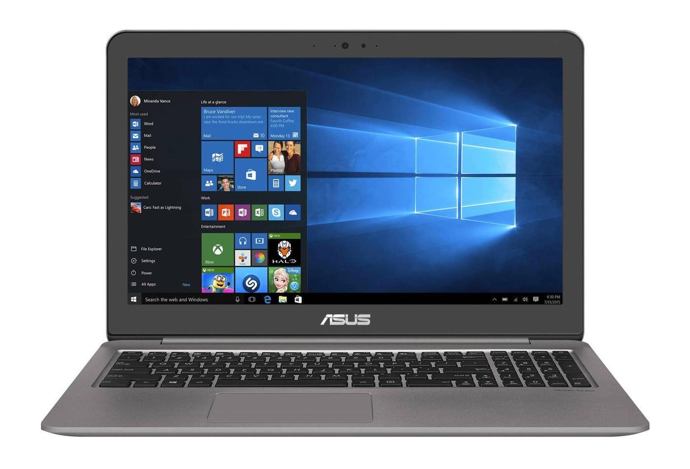 Asus Zenbook UX510UX-DM095T, ultrabook 15 pouces i7 Kaby 950M (799€)