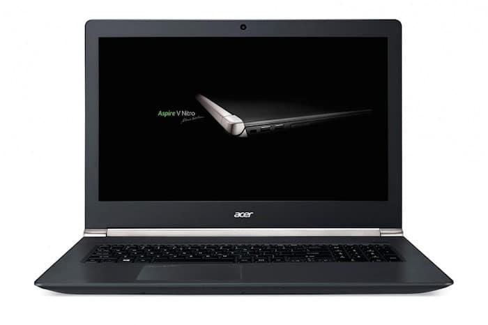 """<span class=""""tagtitre"""">CES 2015 - </span>Acer V 17 Nitro, 17.3 pouces gamer avec caméra Intel RealSense 3D"""