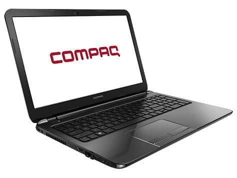 """Compaq 15-s019nf en vente flash à 249€, 15.6"""" avec Celeron Dual Core Bay Trail, 4 Go, 500 Go"""