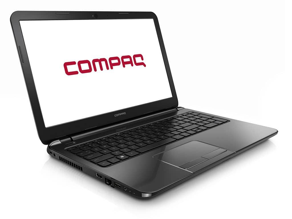 """Compaq 15-s020nf, 15.6"""" en vente flash à 239€ avec disque dur de 750 Go et Celeron Dual Core Bay Trail"""