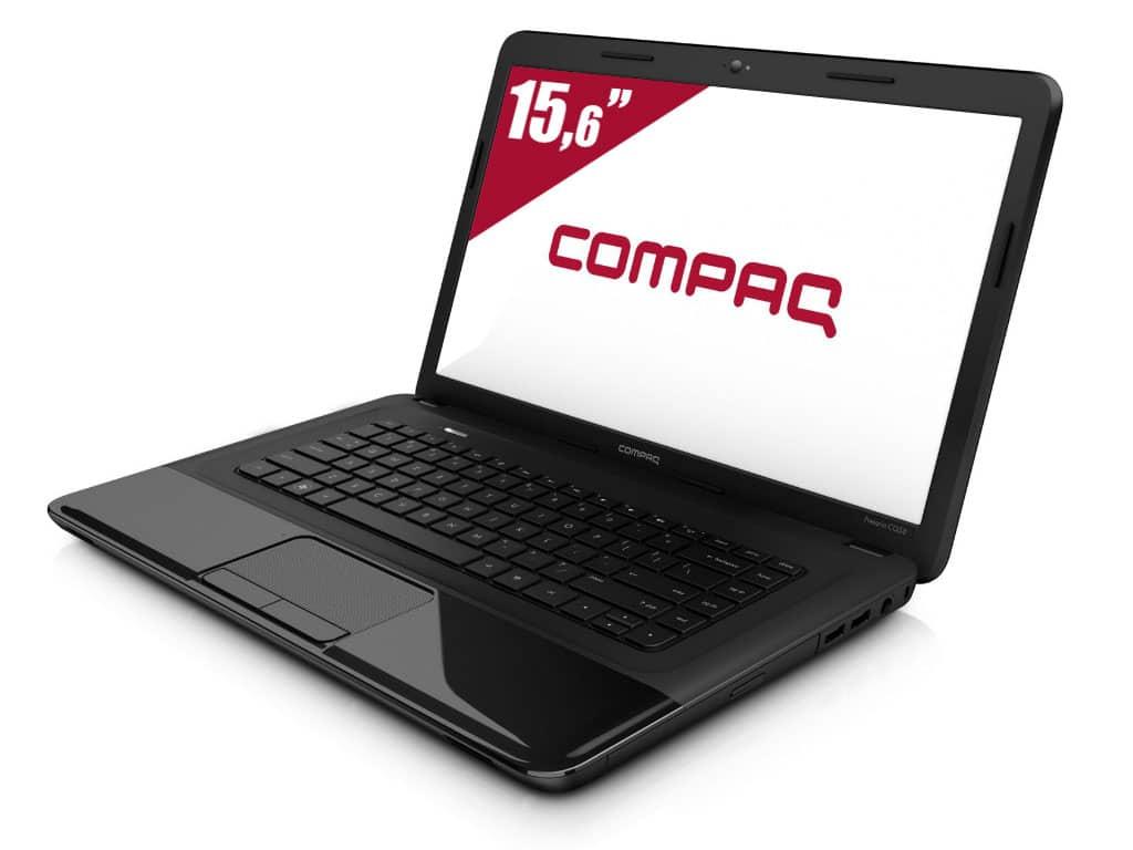 """Compaq CQ58-D40sf à 399€, 15.6"""" bureautique avec Core i3 Ivy Bridge, 500 Go"""