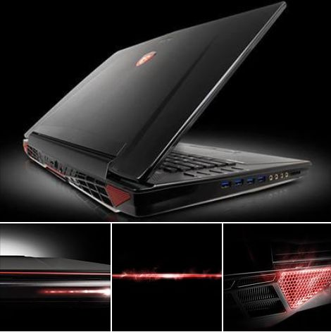 "<span class=""tagtitre"">Computex 2014 - </span>MSI GT72 Dominator Pro, 17.3"" : GTX 880M, 4 SSD M.2 RAID, Haswell"