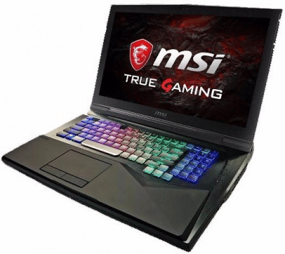 "<span class=""tagtitre"">Computex 2017 - </span>MSI GT75VR Titan, PC portable GTX 1080, SLI, 4K, etc."