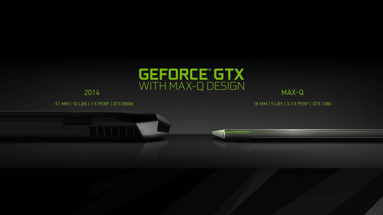 """<span class=""""tagtitre"""">Computex 2017 - </span>NVIDIA Max-Q, PC portables GTX 1080 de 18mm d'épaisseur"""