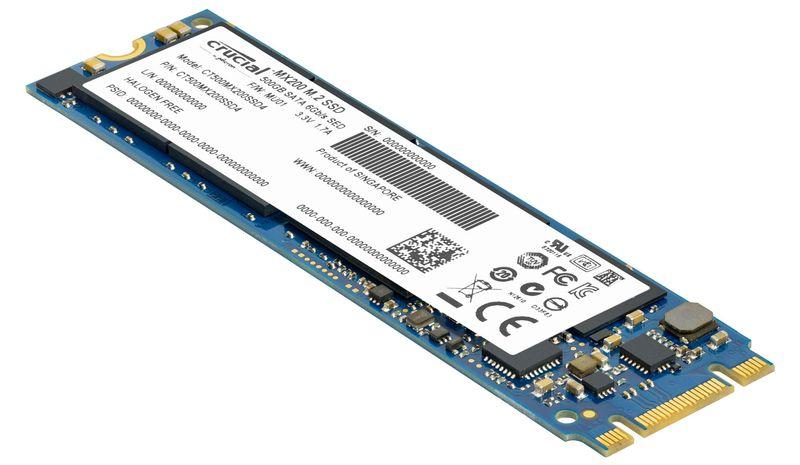 """<span class=""""tagtitre"""">Bon Plan - </span>SSD M.2 Crucial MX200 de 500 Go en vente flash à 169€"""