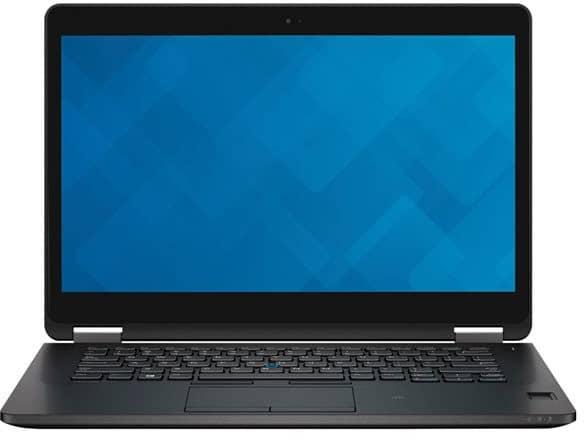 Dell Latitude E7470-7808, ultrabook 14 pouces Pro QHD tactile SSD i5 promo 849€