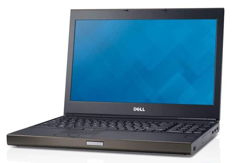 "Dell Precision M4800, 15.6"" mat Full HD ou QHD+ à partir de 1439€ : Core i7 Haswell, Quadro/FirePro, SSD, etc."