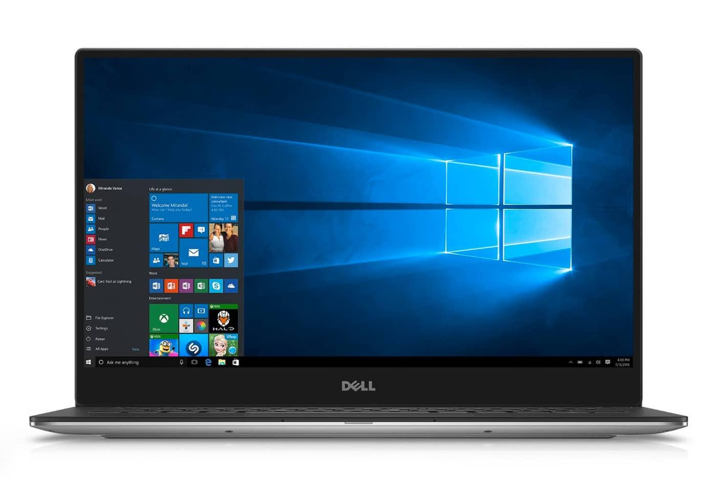 "Dell XPS 13 9360 (60W93), ultrabook 13"" QHD+ SSD512 i7 Kaby Lake 16Go à 1580€"