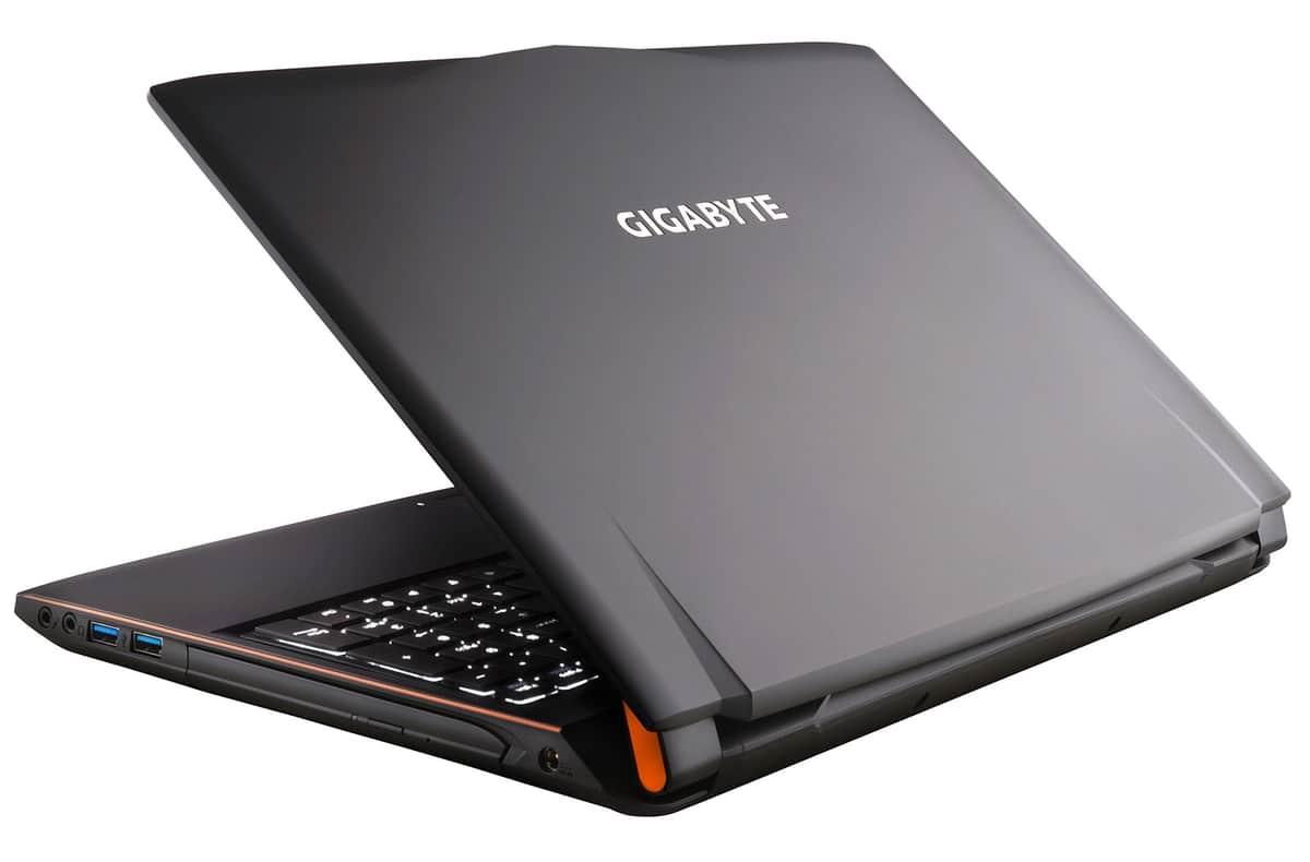 Gigabyte P55W V5 C3W10, PC portable 15 pouces 970M SSD256+1To i7 à 1549€
