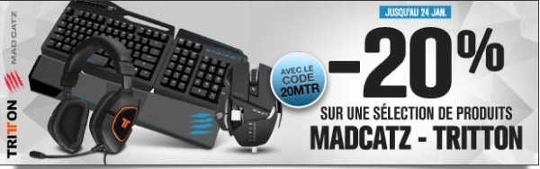 GrosBill Réductions Madcatz périphériques accessoires 24janv16
