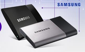 """<span class=""""tagtitre"""">Bon Plan - </span>7% de remise sur les disques durs externes Samsung"""