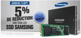 """<span class=""""tagtitre"""">Bon Plan - </span>5% de remise immédiate sur les SSD Samsung chez GrosBill"""