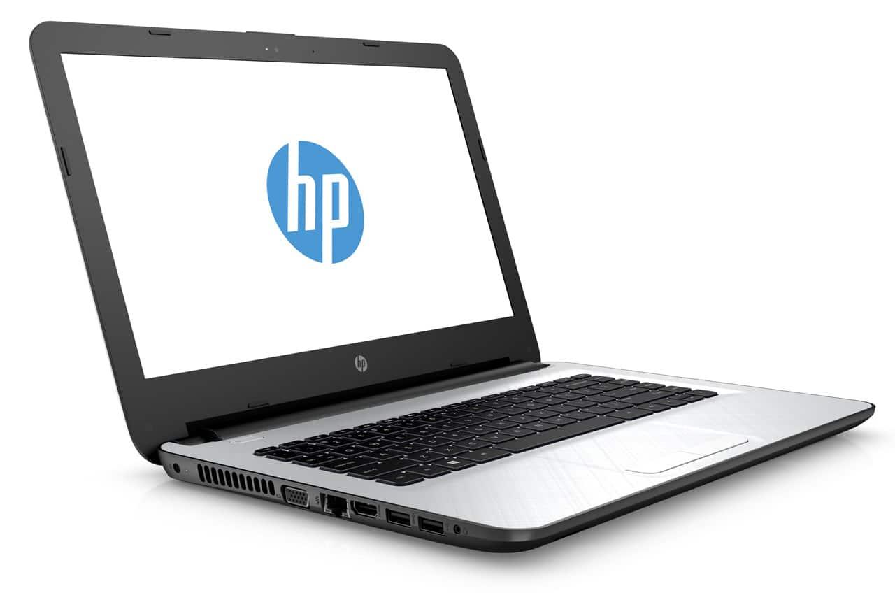 HP 14-ac126nf à 599€, PC portable 14 pouces 8 Go Core i3 Radeon R5