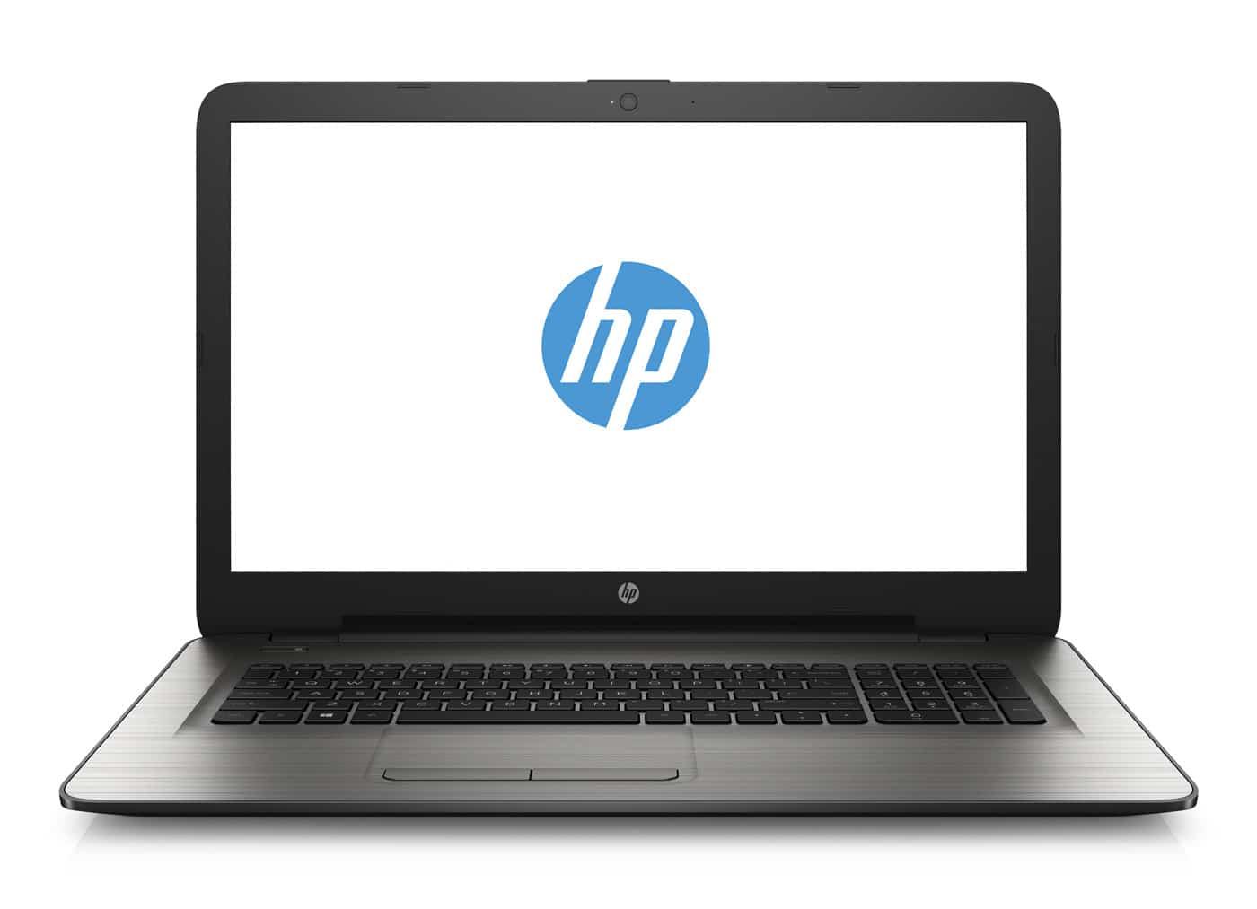HP 17-y050nf, PC portable 17 pouces bureautique argent (399€)