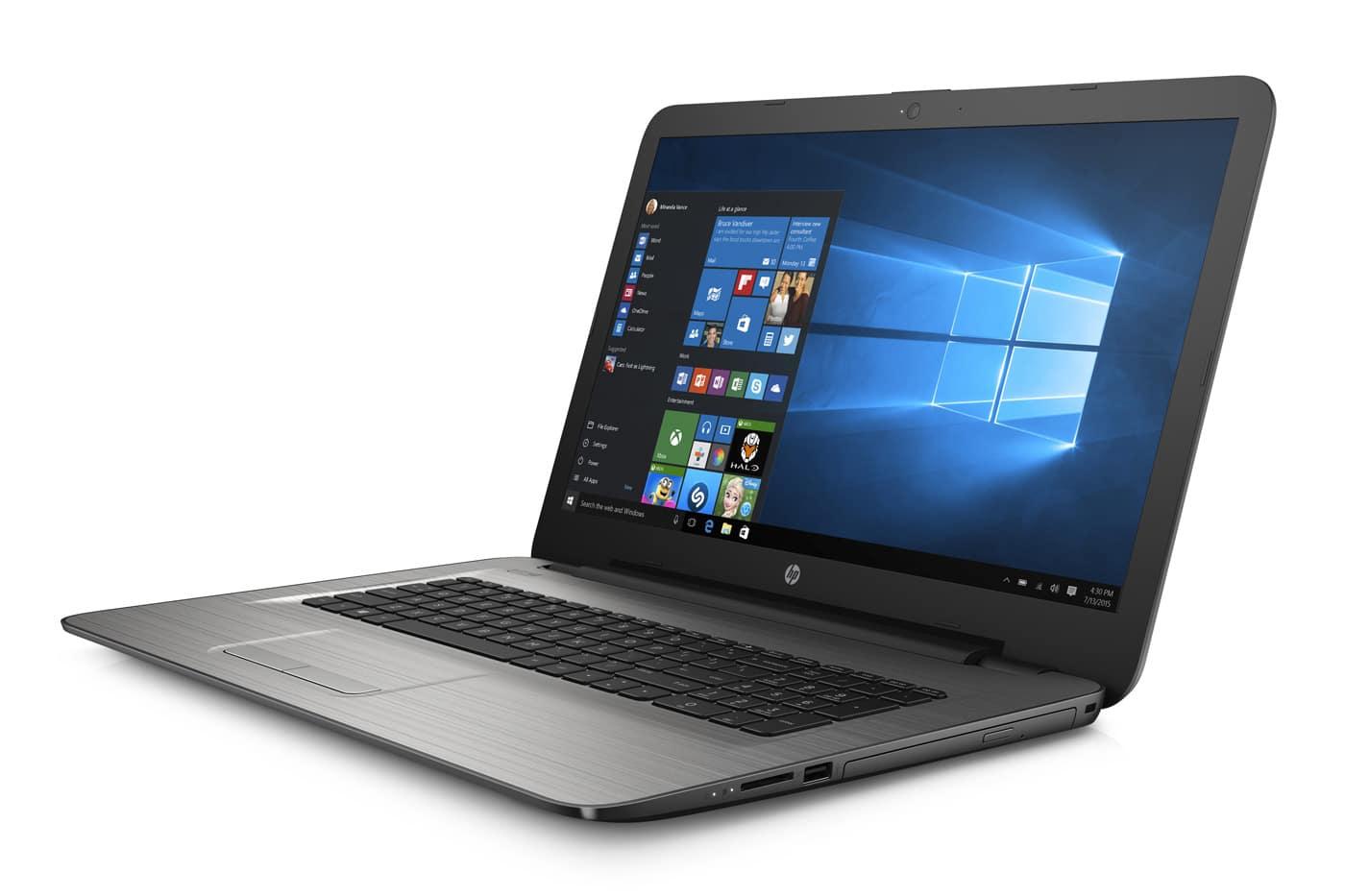 HP 17-y067nf, PC portable 17 pouces A10 Bristol 8 Go Radeon R7 à 539€