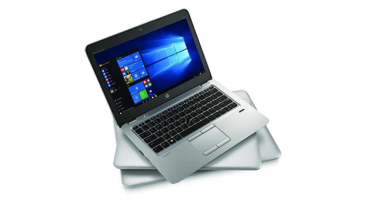 HP EliteBook 725, 745 et 755 G4, nouveaux PC portables APU AMD Bristol Ridge