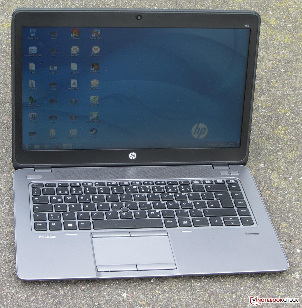 Revue de presse des tests publiés sur le Web (HP EliteBook 745 G2)