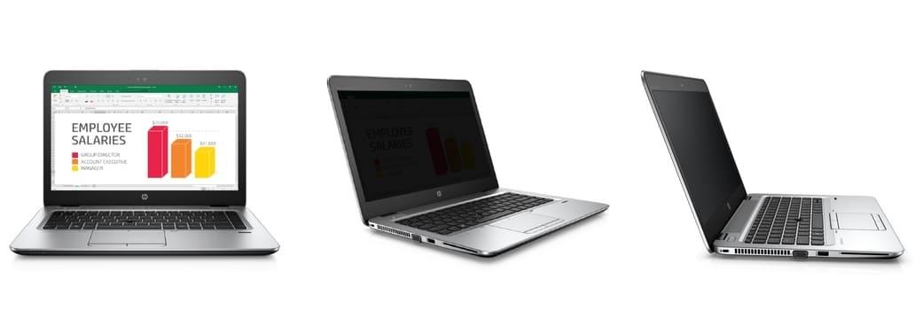 HP intègre un filtre de confidentialité (Sure View) à ses PC portables Elitebook Pro