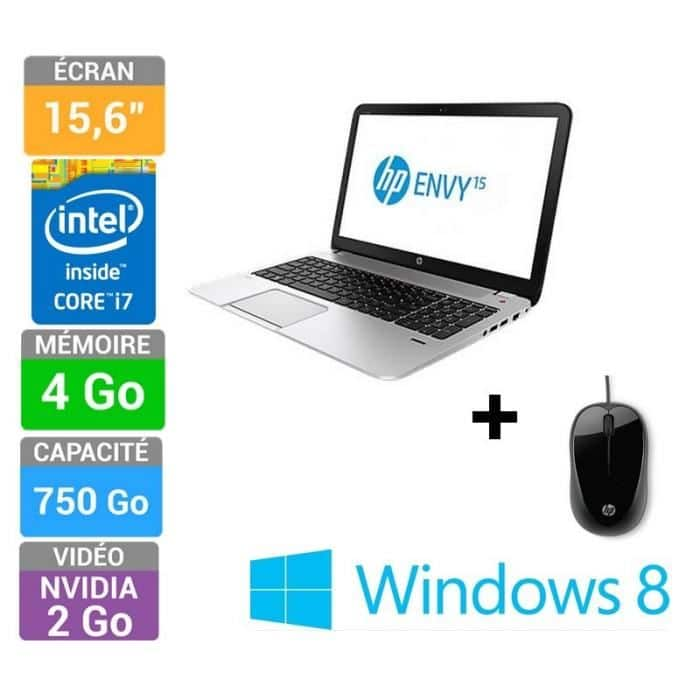 "<span class=""toptagtitre"">Soldes 639€ ! </span>HP Envy 15-j101sf à 699€, 15.6"" : Core i7 Quad Core Haswell, GT 740M, 750 Go"