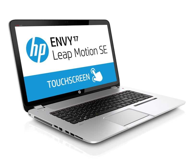 "HP Envy 17-j196ef Leap Motion TS SE, 17.3"" Full HD mat tactile à 1299€ : i7 Haswell, 8 Go, GT 750M, SSH 1 To"