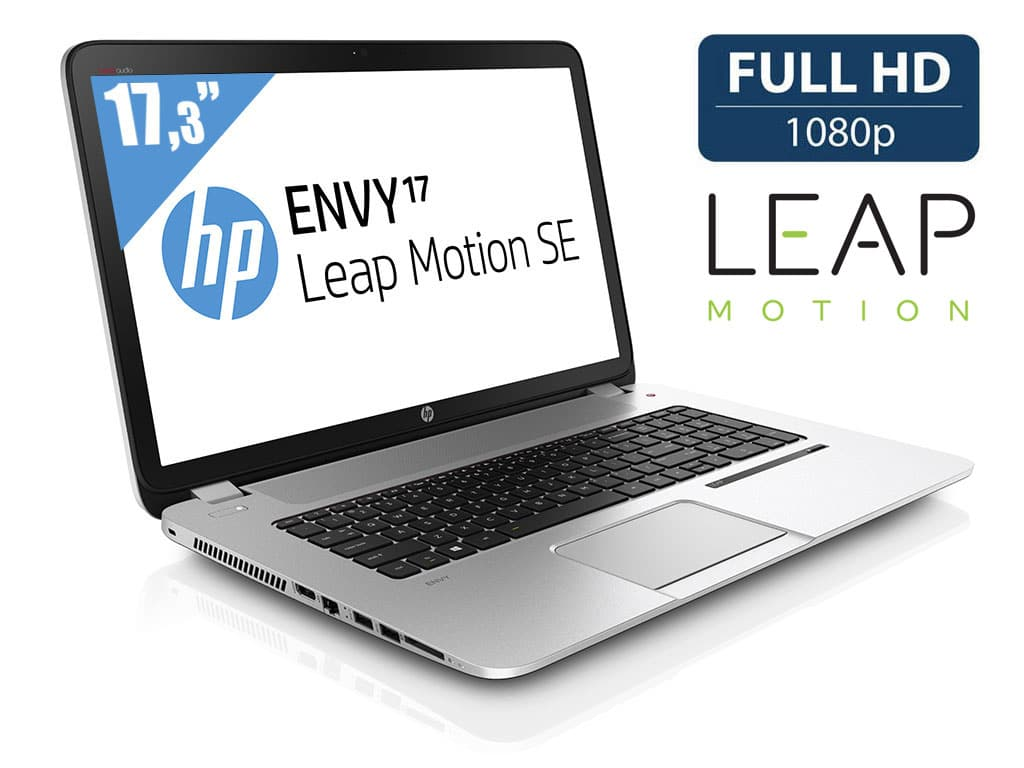 "<span class=""toptagtitre"">Promo 849€ ! </span>HP Envy 17-j197ef Leap Motion SE, 17.3"" Full HD mat à 1099€ : Core i7 Haswell, 8 Go, GT 750M, 1 To"