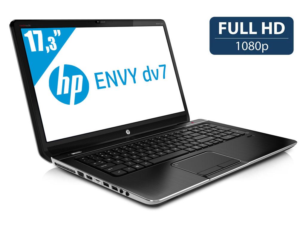 "HP Envy dv7-7394ef, 17.3"" Full HD mat : Blu-Ray, Core i7 Ivy Bridge, 8 Go, GT 635M, 1 To, 899€"