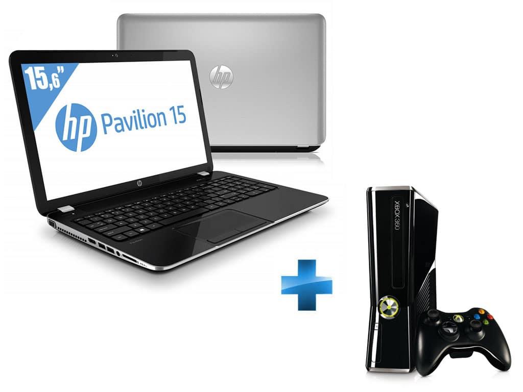 """<span class=""""tagtitre""""><del>Soldes 399€ - </span>HP Pavilion 15-E024sf à 449€, 15.6"""" : Pentium Dual Core Ivy Bridge, 6 Go, 750 Go</del>"""