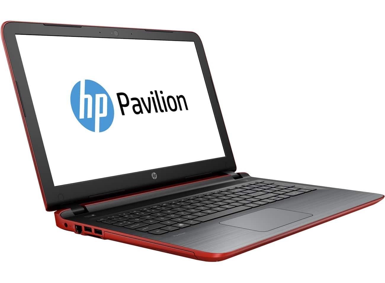 hp pavilion 15 ab216nf promo 479 pc portable 15 pouces rouge laptopspirit. Black Bedroom Furniture Sets. Home Design Ideas