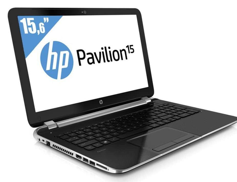 """HP Pavilion 15-n207sf à 399€, 15.6"""" polyvalent : APU Quad Core A10 Richland, HD8670M, 750 Go"""
