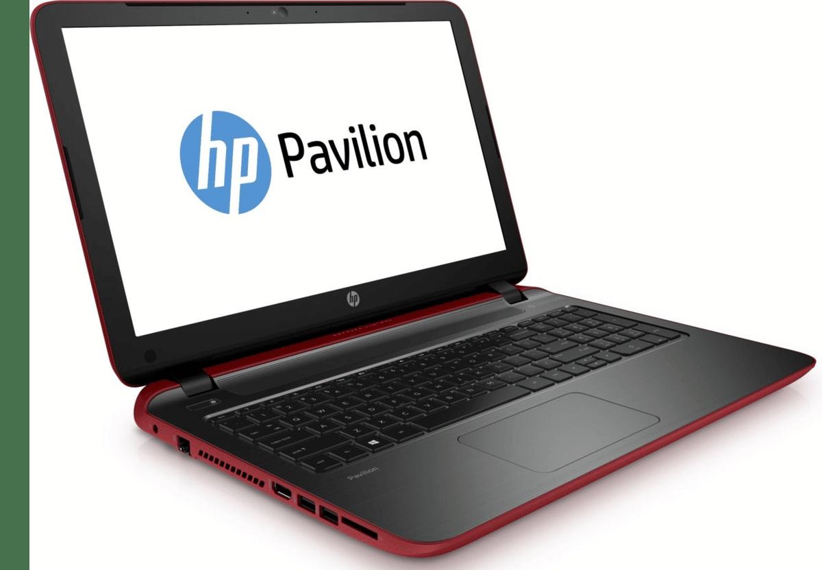 """HP Pavilion 15-p032nf, 15.6"""" rouge avec Pentium Quad Core Bay Trail et disque dur de 750 Go à 379€ (-100€)"""